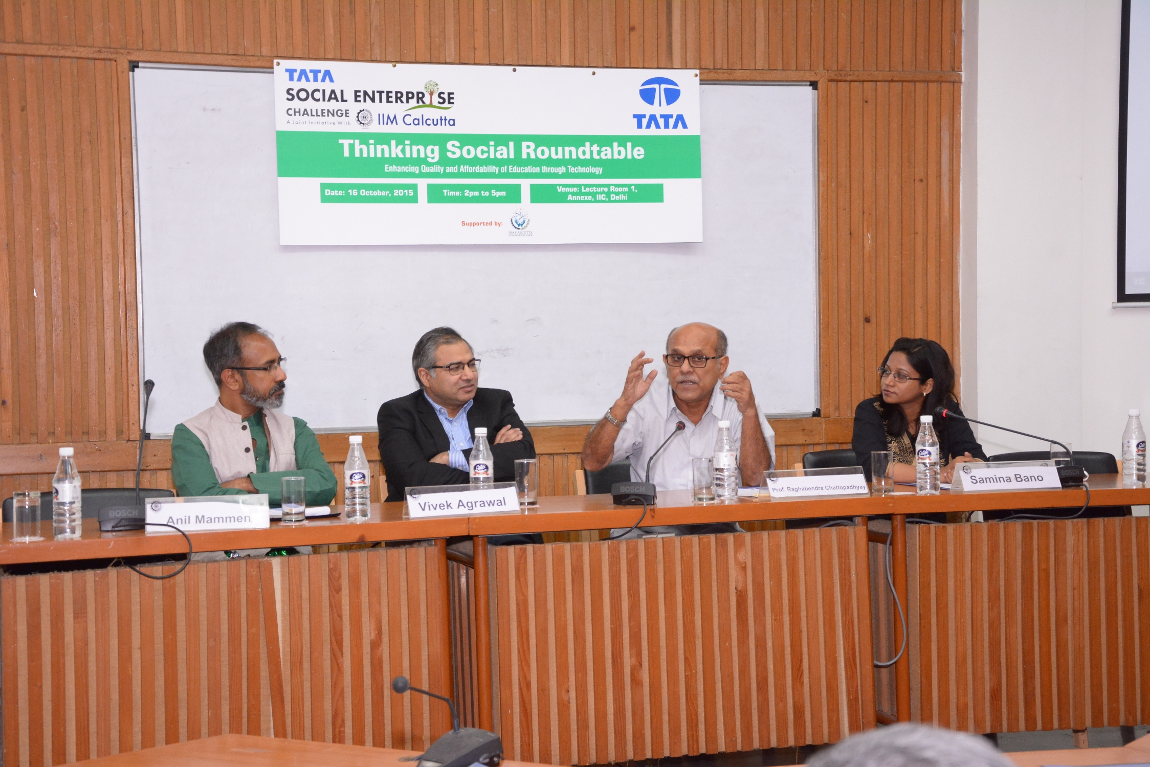 Thinking Social Roundtable – Delhi