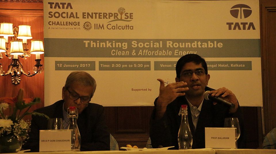 Thinking Social Roundtable on Affordable and Clean Energy