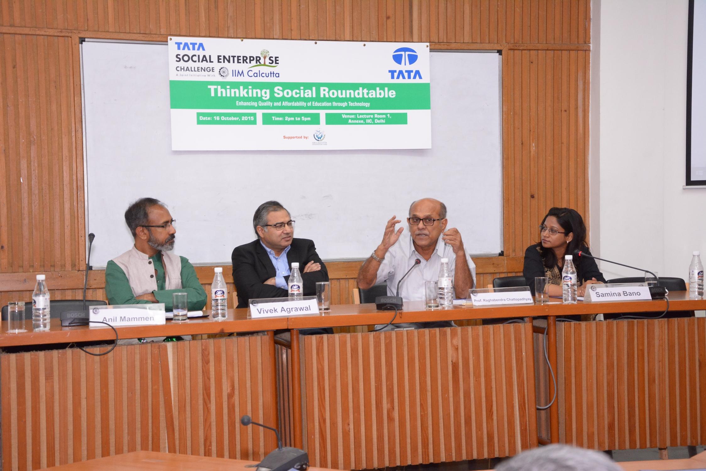 Thinking Social Roundtable – Delhi