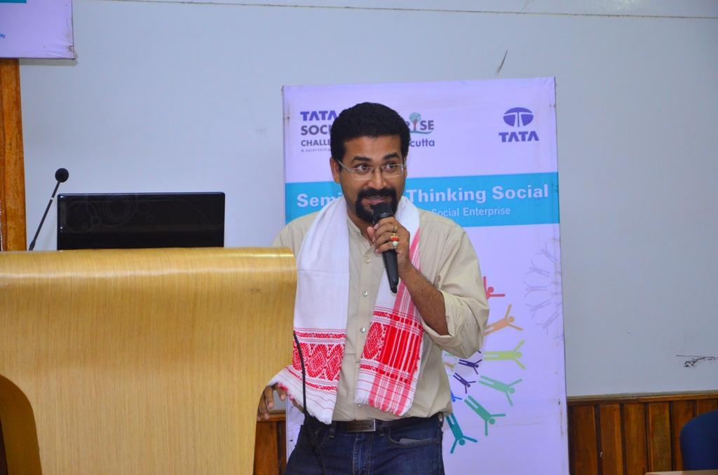"""Seminar on """"Thinking Social"""" at Guwahati"""