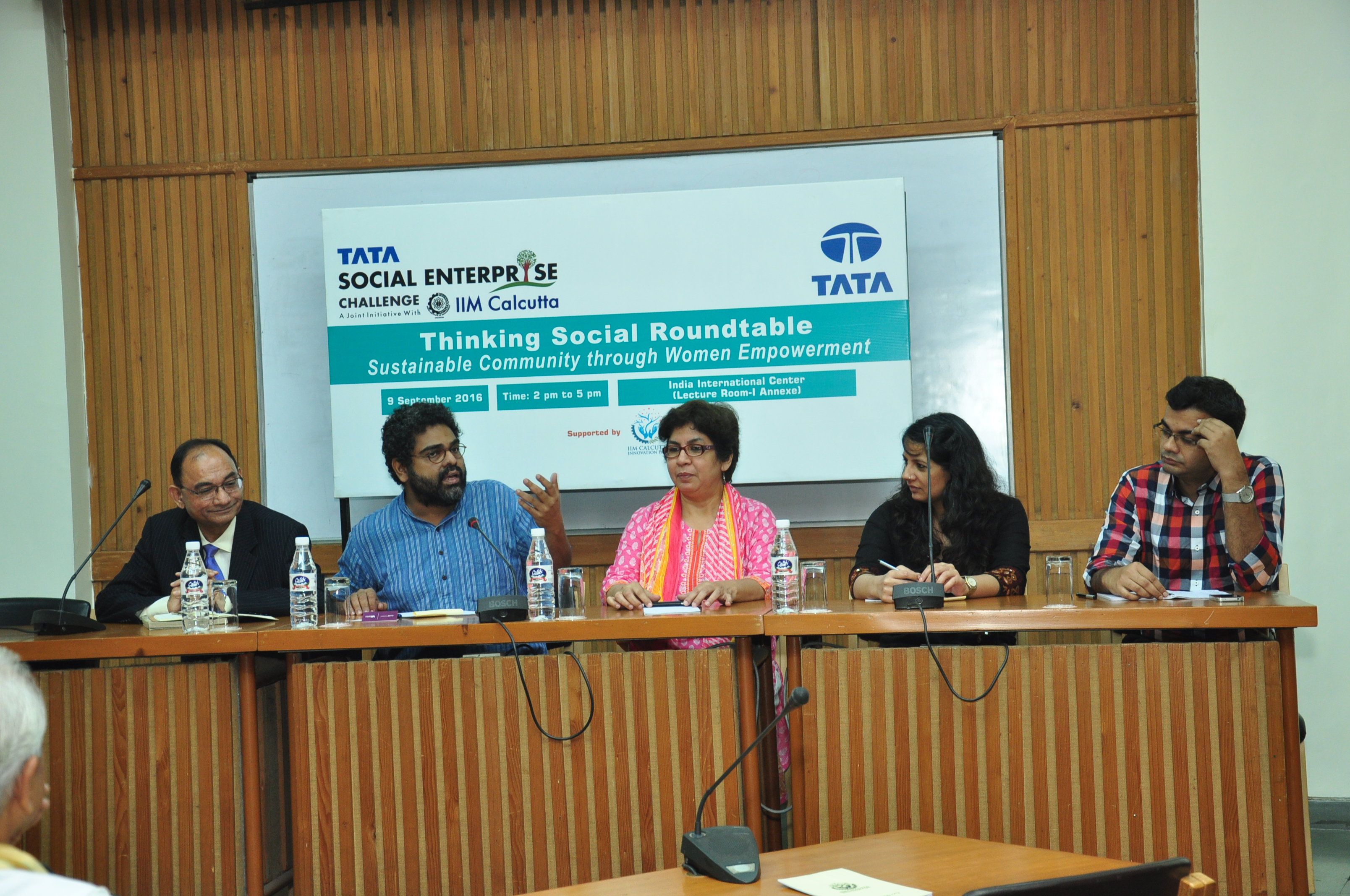 Thinking Social Roundtable (Delhi)