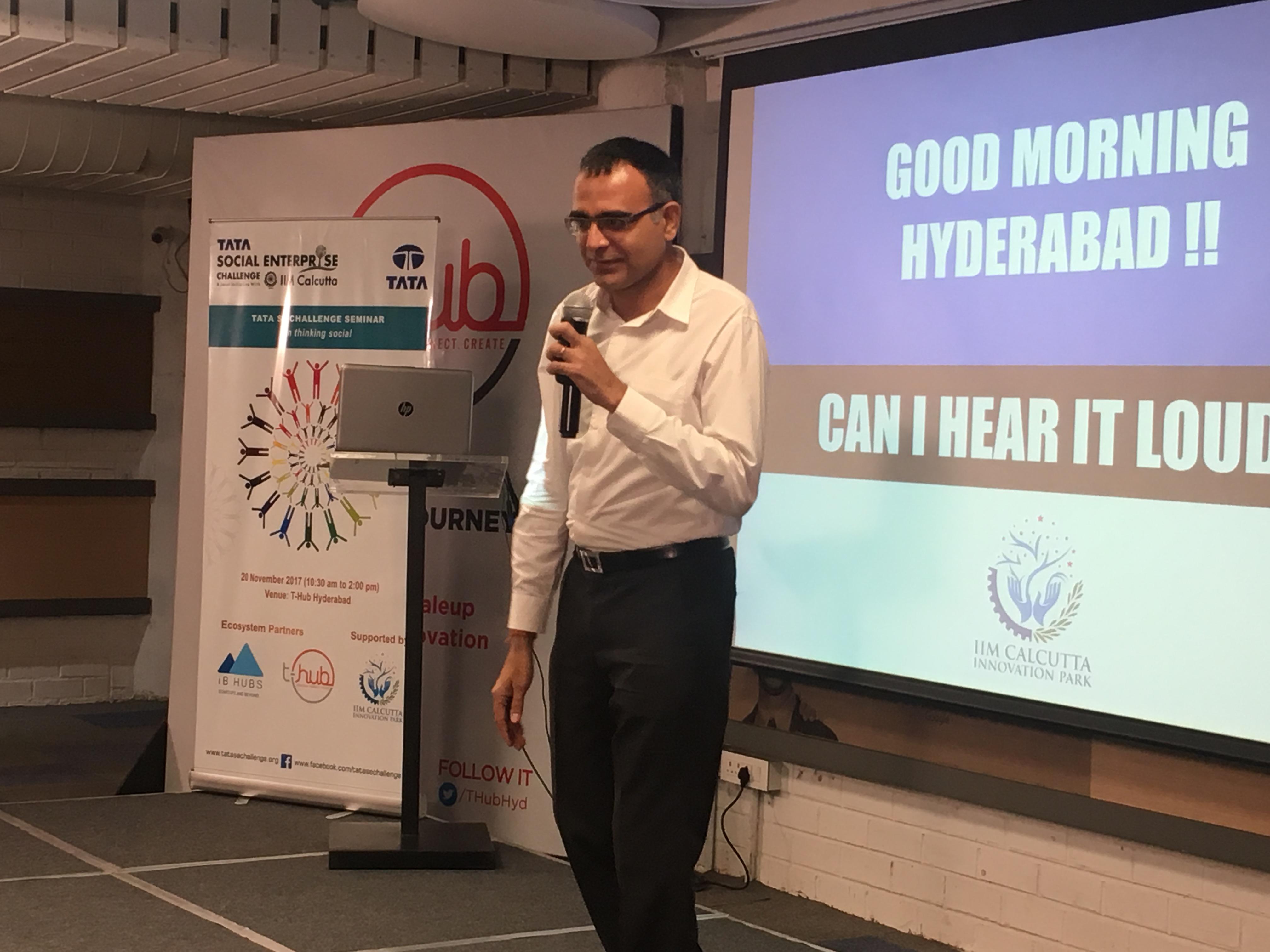 Thinking Social Seminar-Hyderabad