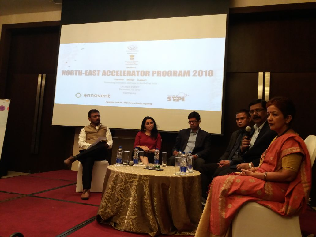 IIMCIP in association with DST launches North East Acceleration Program.