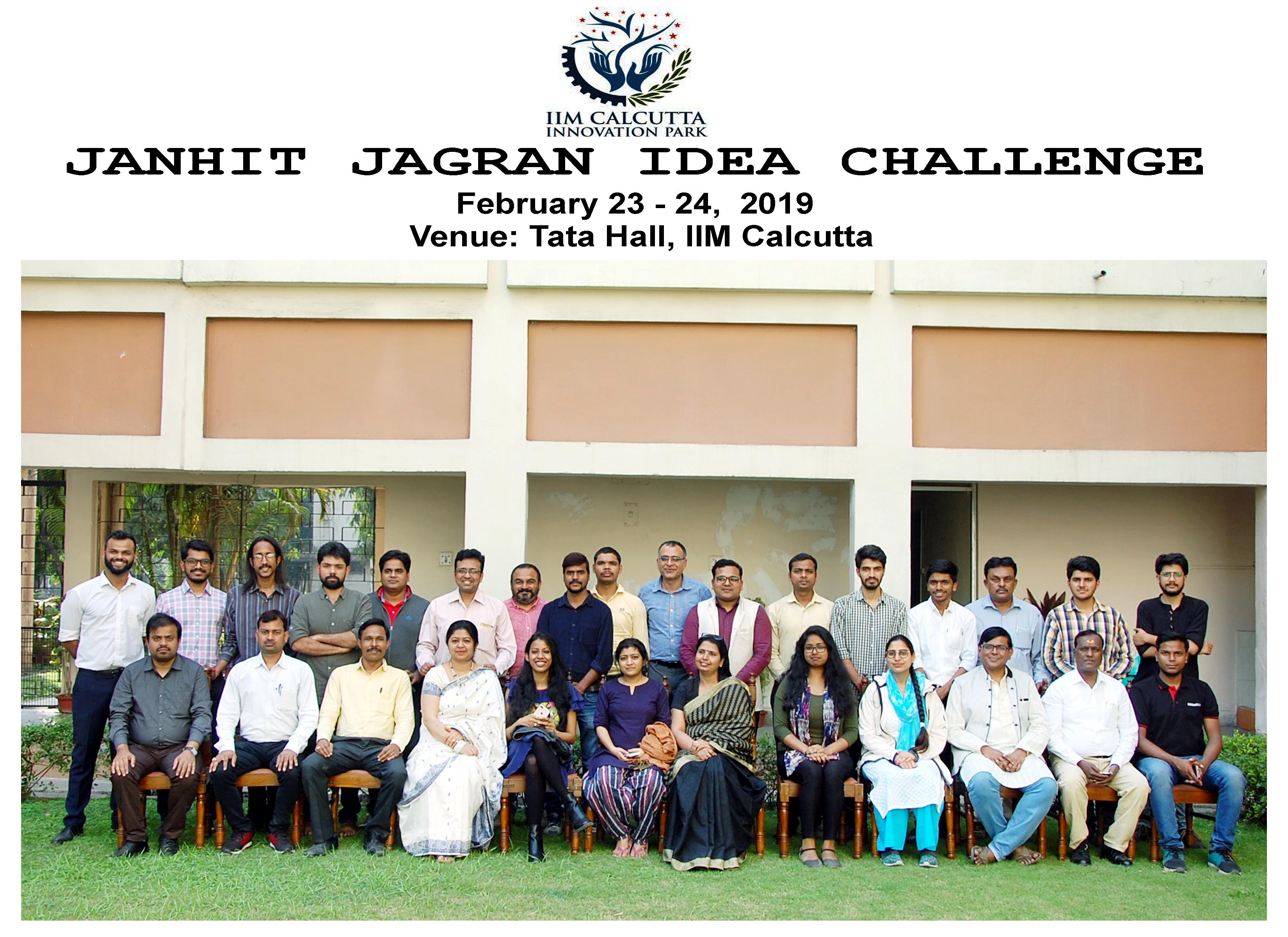 Janhit Jagran Idea Challenge Bootcamp