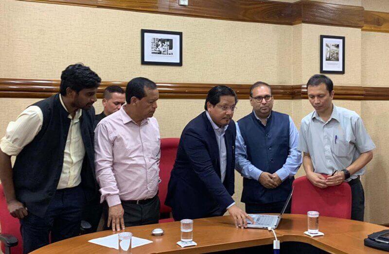 Launch of Meghalaya Chief Minister's E-champion Challenge